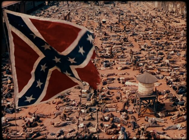 Blackkklansmen Gone with the Wind scene