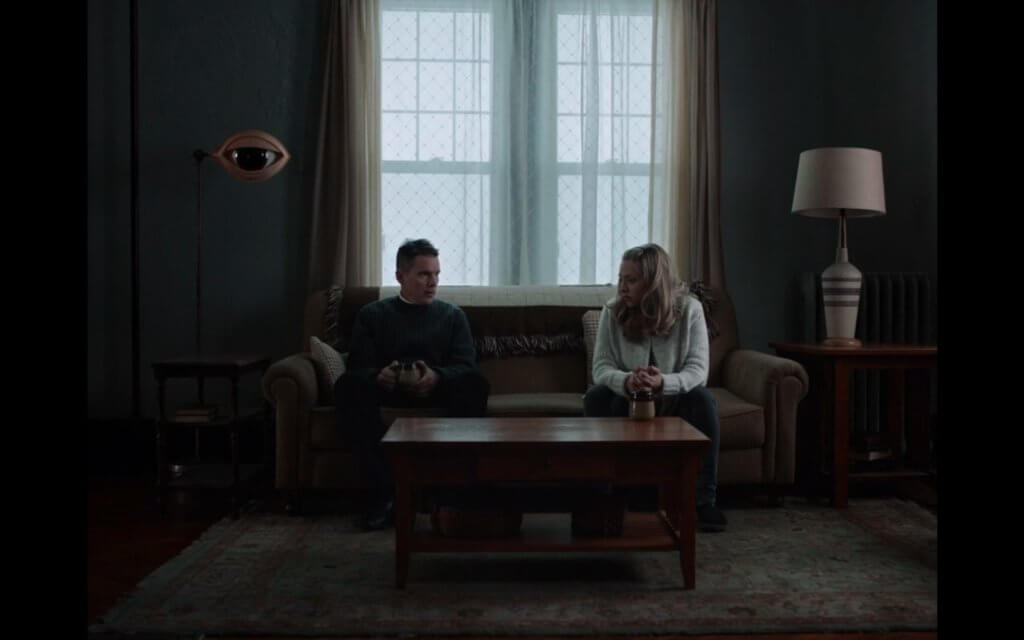 Mary eye first reformed