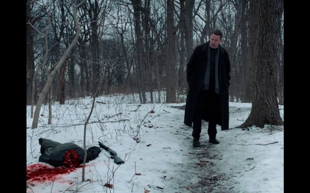 Michael suicide First Reformed