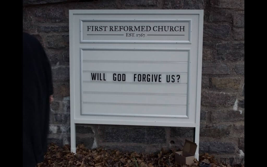 forgiveness First Reformed