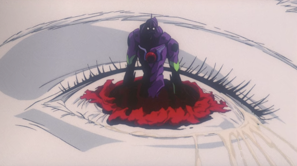 End of Evangelion Unit-01 Eye