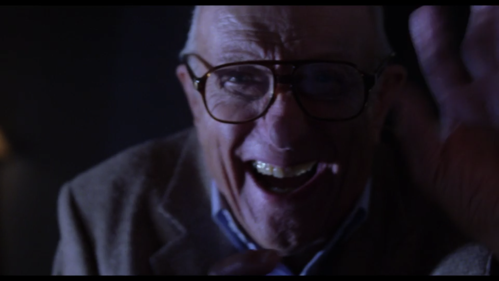 Mulholland Drive old man scary laughing