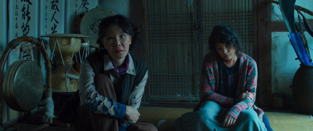 Two women hire the Shaman for work in The Wailing