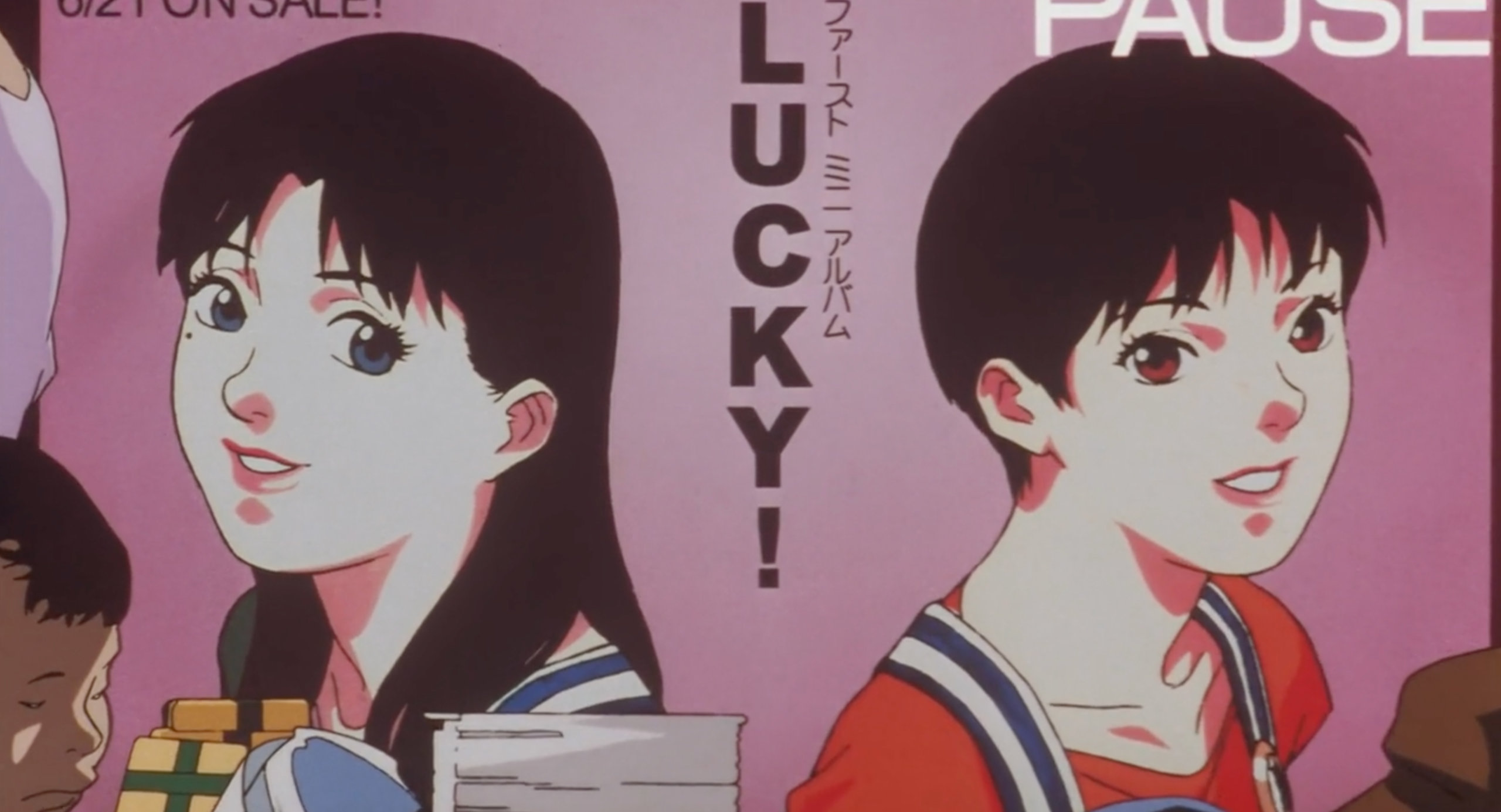A CHAM! poster in Perfect Blue