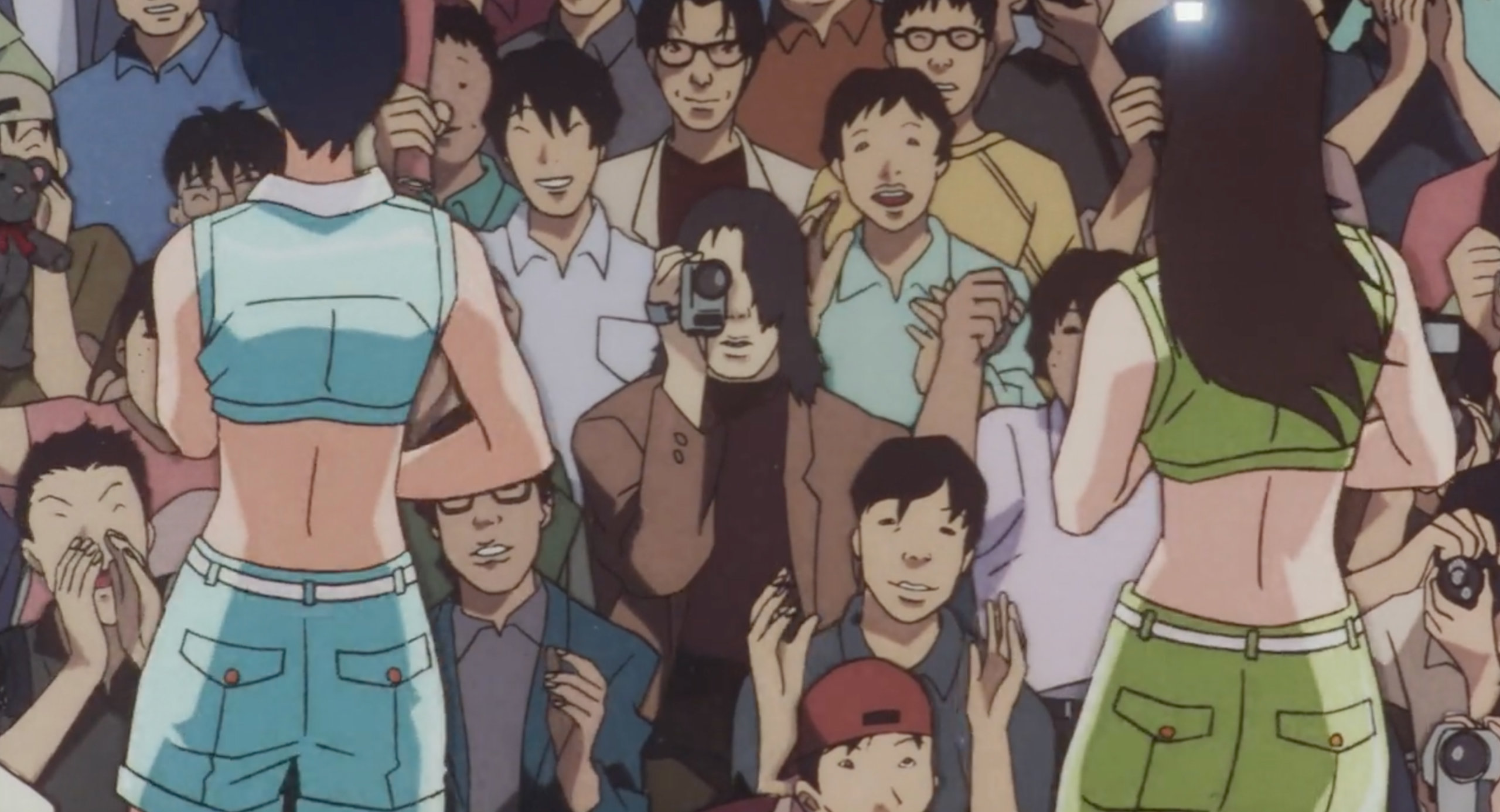 Me-Mania videotapes CHAM! at a concert in Perfect Blue