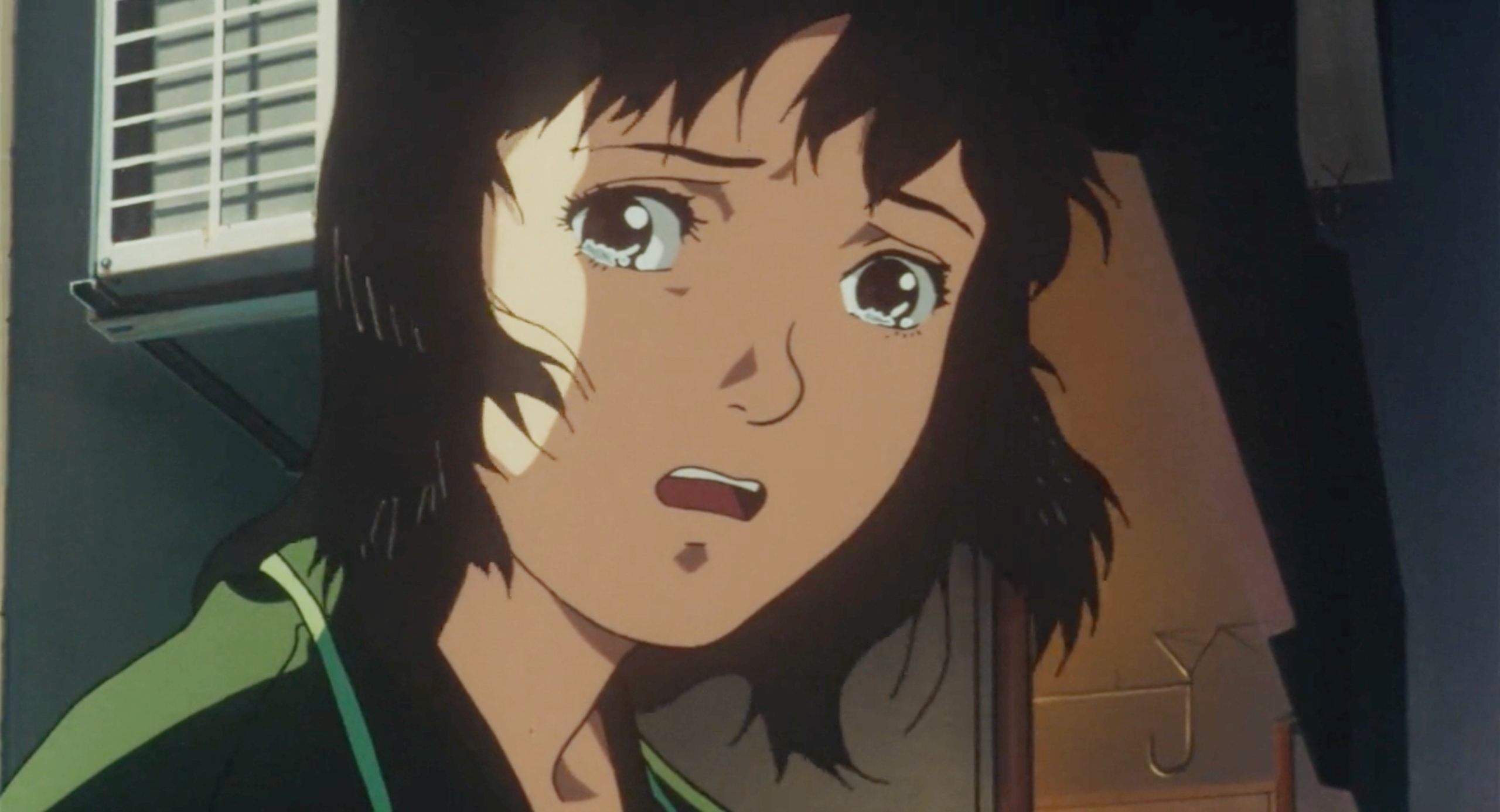 Mima cries in Perfect Blue