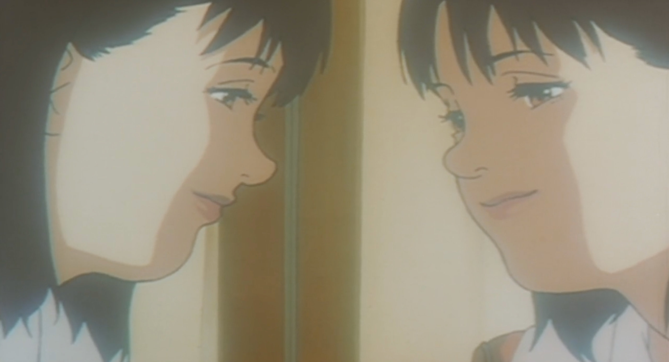 Mima reveals she has a split personality in Perfect Blue