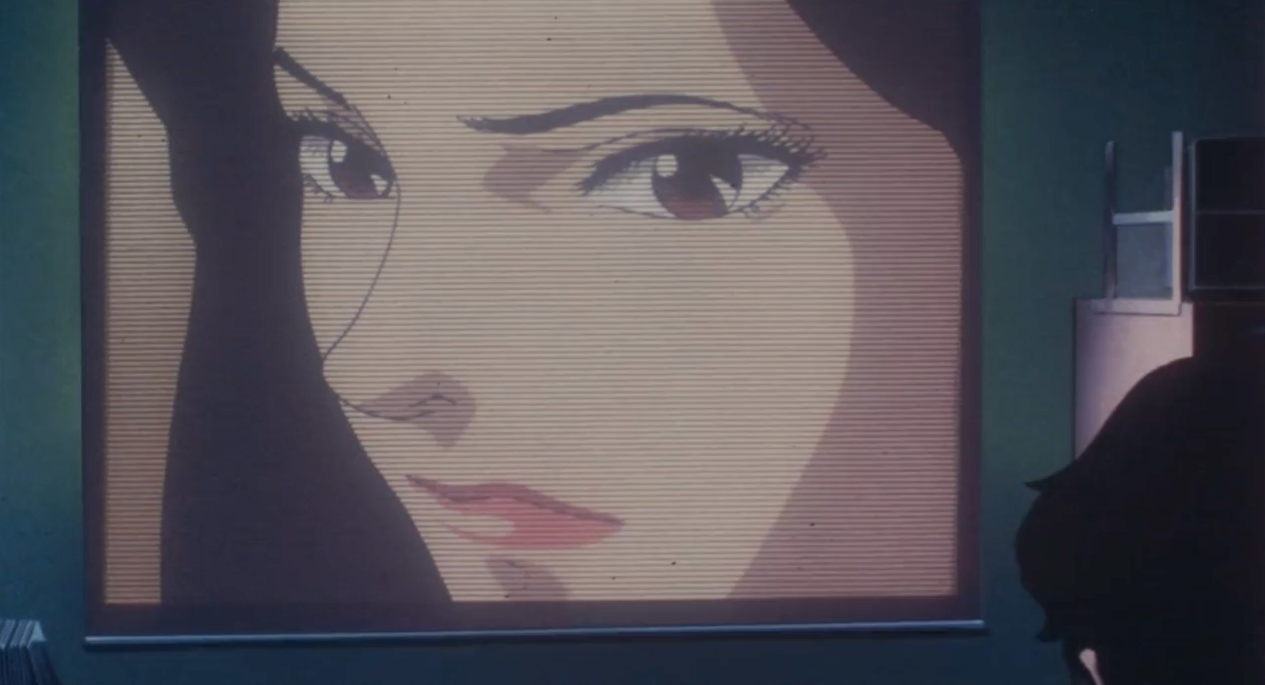 The photographer watches Double Bind in Perfect Blue