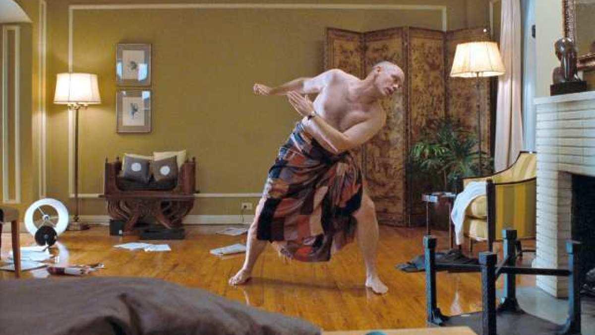 Craig dances in John Malkovich body in Being John Malkovich